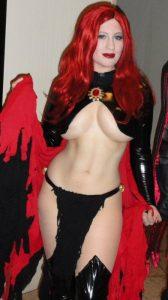 BelleChere as The Goblin Queen