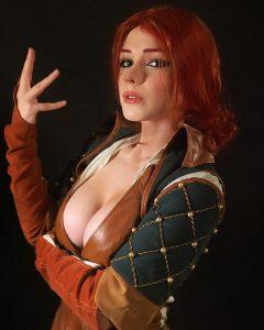 Captain-Irachka-as-Triss-Merigold-Witcher-3
