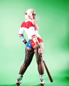 DC Doll as Suicide Squad Harley Quinn.