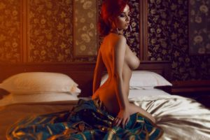 Extremely hot and sexy Triss Merigold from the Witcher by Disharmonica
