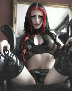 Ivana Hyde As A Goth Girl