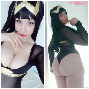 big-booty-sexy-Tharja-by-Tenleid-Cosplay