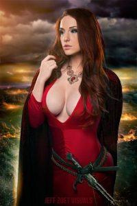 hot-big-boob-Melisandre-cosplay