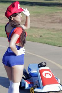 hot-girl-mario-cosplay-mario-kart-costume